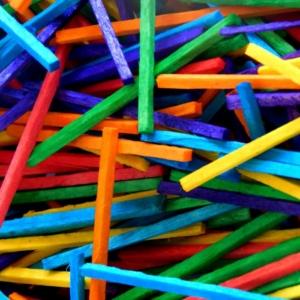 5000 Matchsticks Assorted Colours