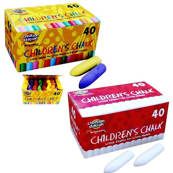 Chunky Chalks Twin Pack 80 pcs