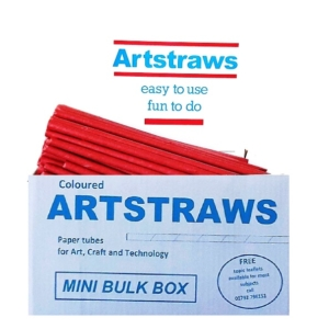 Artstraws Red Paper Straws 6mm