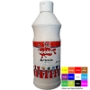 Artmix 600ml Bottles Ready Mix Craft Poster Paint White