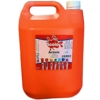 Artmix 5 litre Container Ready Mix Craft Poster Paint Orange
