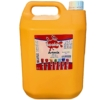 Artmix 5 litre Container Ready Mix Craft Poster Paint Yellow